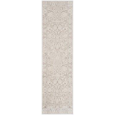 Pellot Beige/Cream Area Rug Rug Size: Runner 23 x 8
