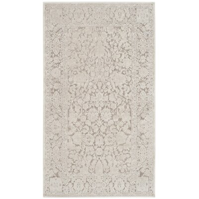 Pellot Beige/Cream Area Rug Rug Size: Rectangle 6 x 9