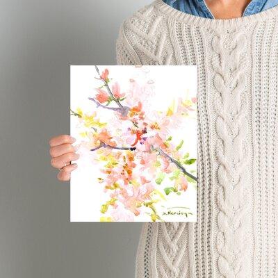 Cherry Blossom Sakura Painting Size: 10