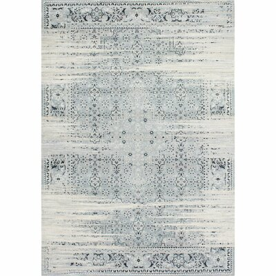 Amistey Lake Blue Area Rug Rug Size: Rectangle 53 x 77