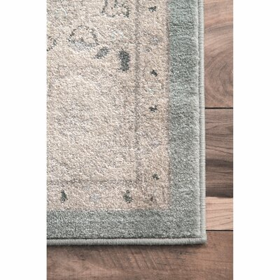 Rochelle Blue/Beige Area Rug Rug Size: Rectangle 9 x 12