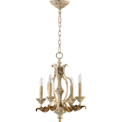 Guyette 4-Light Candle-Style Chandelier