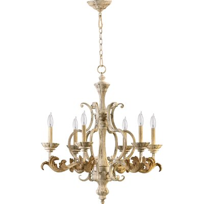 Guyette 6-Light Candle-Style Chandelier