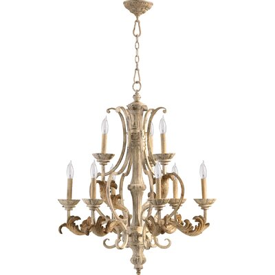 Guyette 9-Light Candle-Style Chandelier