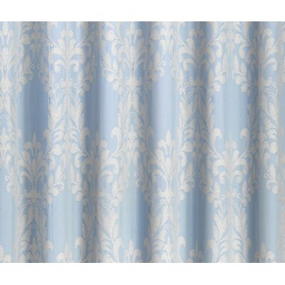 Corringham New Floral Shower Curtain Color: Blue