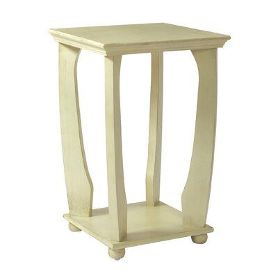 Stephane End Table Color: Antique White