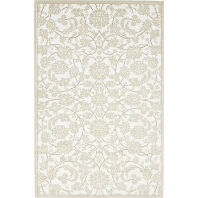 Matis Beige Area Rug Rug Size: Rectangle 4 x 6