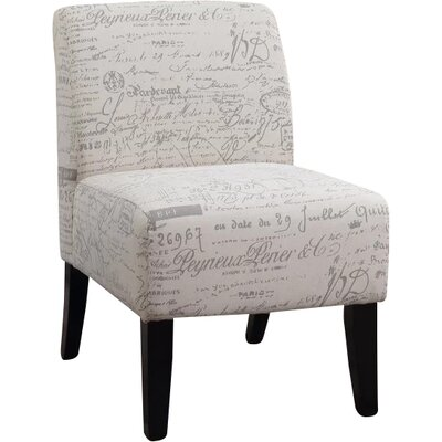 Tourmalet Script Slipper Chair