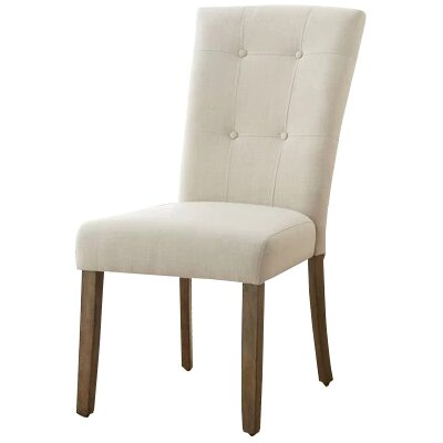 Dejardins Side Chair (Set of 2) Upholstery: Beige