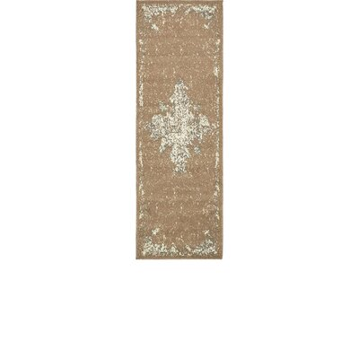 Forcalquier Brown Area Rug Rug Size: Runner 2 x 6