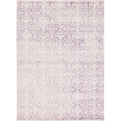 Patenaude Purple Area Rug Rug Size: Rectangle 5 x 8