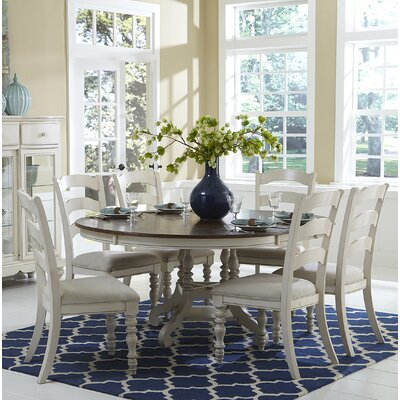 Alise 7 Piece Wood Dining Set