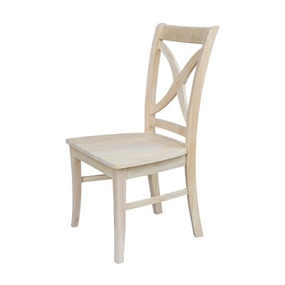 Beuvron Solid Wood Dining Chair Color: Unfinished