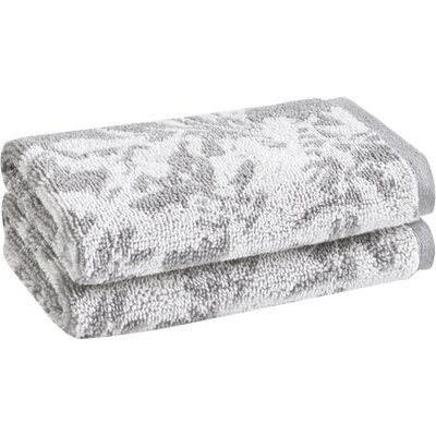 Lavalle Washcloth Color: Soft Silver/Sugar Swizzle