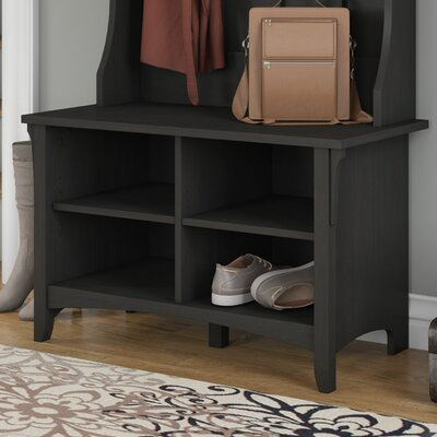 Ottman Storage Bench Finish: Vintage Black