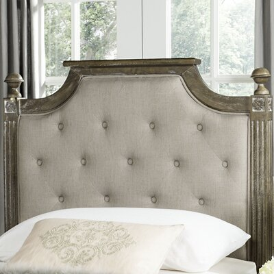 Parada Upholstered Panel Headboard Size: Full, Color: Taupe
