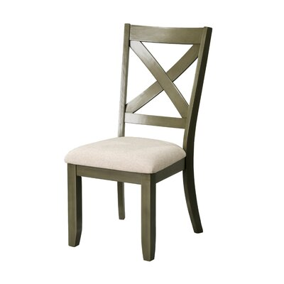 Vivien Side Chair (Set of 2) Color: Gray