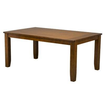 Saint-Brieuc Dining Table Finish: Warm Sienna Brown
