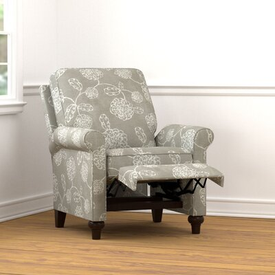 Gilland Recliner Upholstery: Taupe Floral