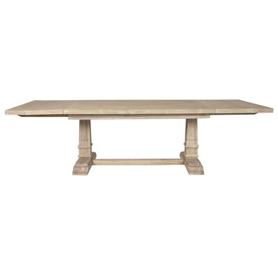 Parfondeval Leaf Extension Dining Table Finish: Stone Wash