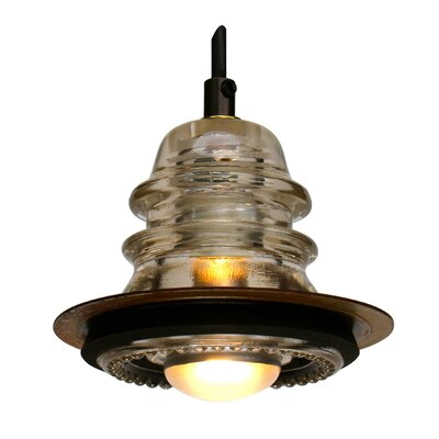 Insulator Light Pendant Metal ring 5?, 20V 40W, dimming