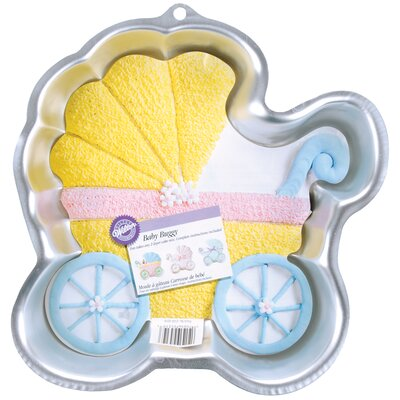 Baby Buggy Novelty Cake Pan W2105CP-3319