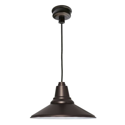 Calla 1-Light LED Mini Pendant Finish: Mahogany Bronze, Size: 48 H x 12.25 W x 12.25 D