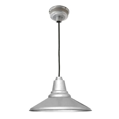 Calla 1-Light LED Mini Pendant Finish: White, Size: 48