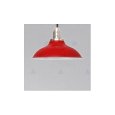 Peony LED Inverted Pendant Finish: Cherry Red, Size: 72 H x 10 W x 10 D