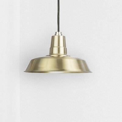 Oldage LED Inverted Pendant Finish: Solid Brass, Size: 72 H x 18 W x 18 D
