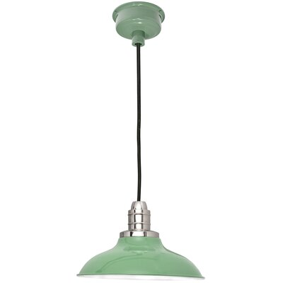 Peony LED Inverted Pendant Finish: Jade, Size: 72 H x 10 W x 10 D