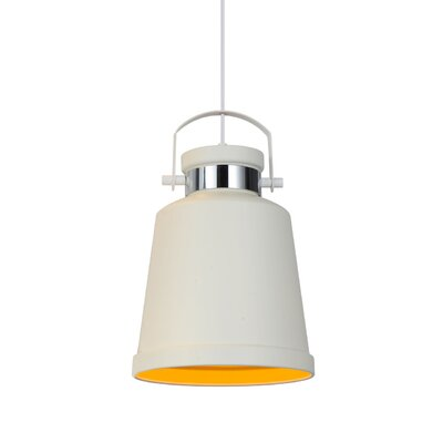 Biella 1-Light LED Inverted Pendant