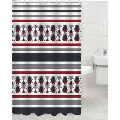 Space Polyester Shower Curtain