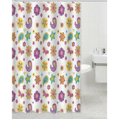 Sunny Day Polyester Shower Curtain