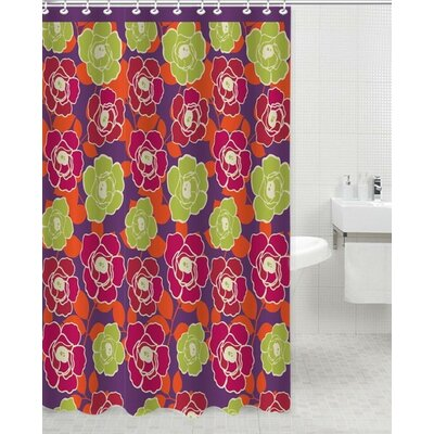 Neon Polyester Shower Curtain
