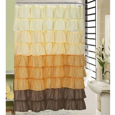 Shower Curtain Color: Beige