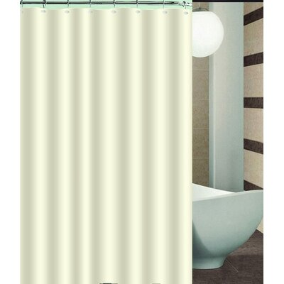 Aden Shower Curtain Color: Beige