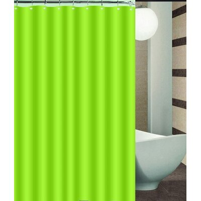 Nakayama Shower Curtain Color: Green