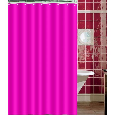 Nakayama Shower Curtain Color: Pink