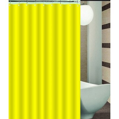 Nakayama Shower Curtain Color: Yellow