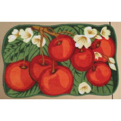 Red Cherry Kitchen Mat