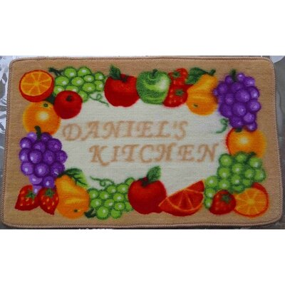 Daniel's Fruits Kitchen Mat