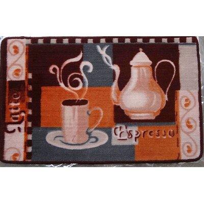 Espresso Kitchen Mat