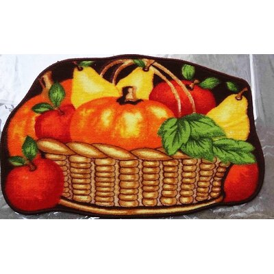 Fruit Basket Kitchen Mat