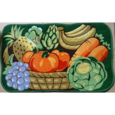 Vegetable Garden Kitchen Mat