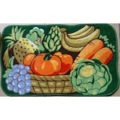 Vegetable Garden Kitchen Mat