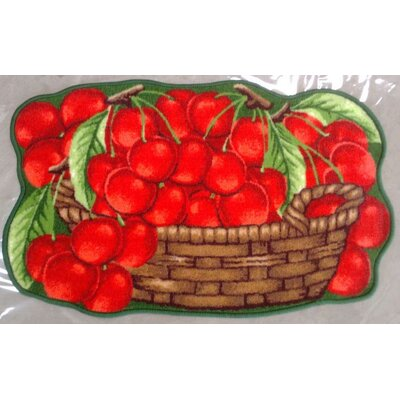 Yummy Cherries Kitchen Mat