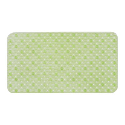 Hotel Bath Tub Mat Color: Green