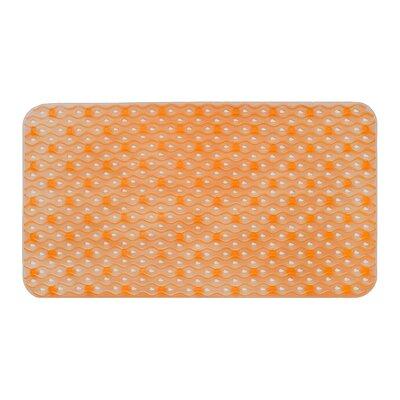 Hotel Bath Tub Mat Color: Orange