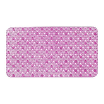 Hotel Bath Tub Mat Color: Purple
